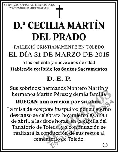 Cecilia Martín del Prado